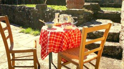 Breakfast on the patio/Colazione sul patio