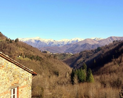 View over the mountains/Vista sulle montagne