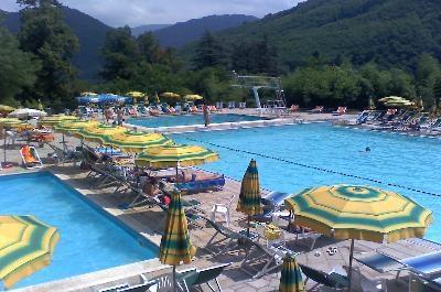 Swimming pool in Bagni di Lucca/Piscina a bagni di Lucca